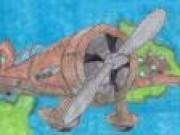 Avioan de lupta pe hartie