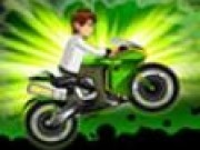 Jocuri cu Ben 10 pe motocicleta