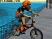 Jocuri cu Bikeri Cascadorii cu biciclete pe strada