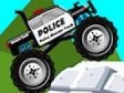Camioane mari de politie