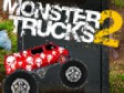 Camioane monstru in competitie