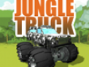 Camion de transport in jungla