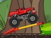 Jocuri cu Camionul monstru de jucarie