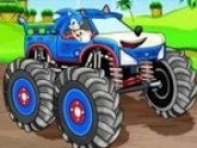 Curse Sonic cu camioane