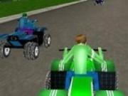 Jocuri cu Curse atv cu Ben 10 online