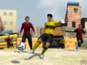 Fotbal 3D pe strada