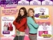 Jocuri cu Hannah Montana si Lilly