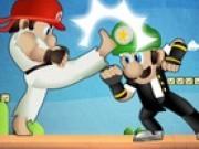 Jocuri cu Mario lupte karate