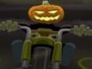 Motociclistul de Halloween