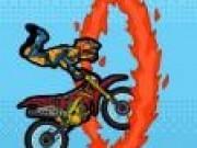 Motociclistul de cascadorii