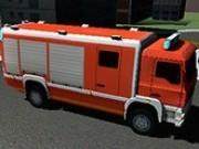 Parcat camionul de pompieri