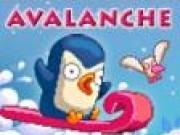 Jocuri cu Pinguini Avalansa dupa Pinguin