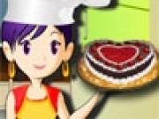 Sara gateste Tort padurea neagra