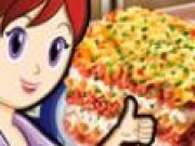 Sara gateste lasagna