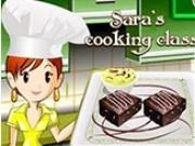 Jocuri cu Sara gateste prajituri negrese