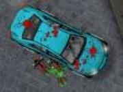 Scapa de zombi cu masina
