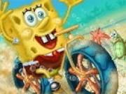 Jocuri cu Spongebob curse motocross
