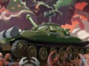 Tank distruge monstrii