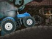 Tractorul contra zombie