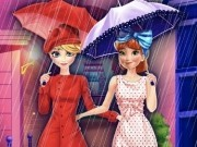 Jocuri cu anna si elsa frozen cumparaturi pe ploaie
