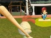 antrenamente pe terenul de baseball