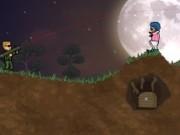 Jocuri cu arunca in aer zombie
