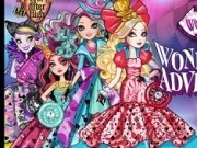 aventura ever after high din tara minunelor