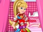 barbie designer rochii craciun din bucati