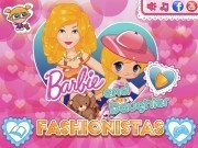 barbie si fiica la salon
