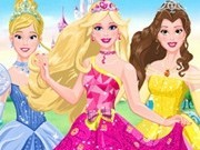 barbie transformare in printesa disney