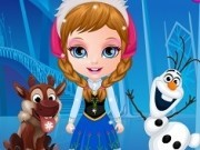 bebelusa barbie in costume frozen