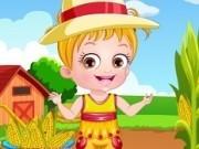 Jocuri cu bebelusa hazel de imbracat la ferma