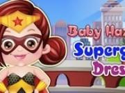 bebelusa hazel supereroina