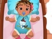 bebelusa mona de ingrijit frumos