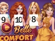 belle in competitia printeselor comfortabile
