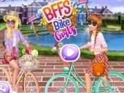 Jocuri cu bff fetele pe bicicleta