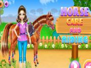 Jocuri cu calarit si ingrijit de cai