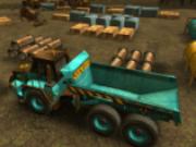 camioane cu remorca de parcat
