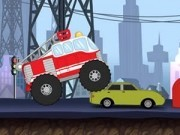 Jocuri cu camioane monstru de pompieri