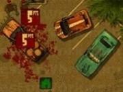 camion cu remorca distruge zombi