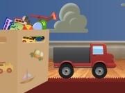 camionul ce transporta jucarii