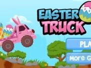 Jocuri cu camionul iepuras de transportat bomboane