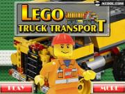 camionul lego de transportat