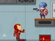 captain america si ironman in misiune