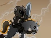 cavalerul calaret cu sabia