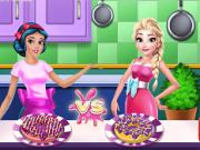 Jocuri cu concursul de gatit cu printese disney