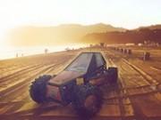 condus masini de plaja cu remorca