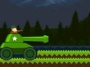 condus teren accidentat cu tancuri si impuscaturi