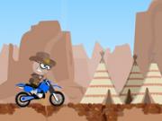 cowboy motociclist