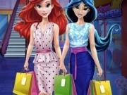 Jocuri cu cumparaturi la mall cu jasmine si ariel